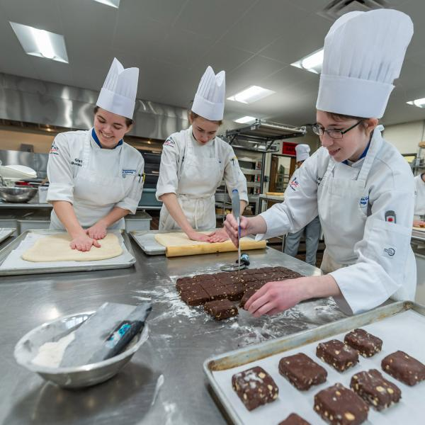 Baking & Pastry students